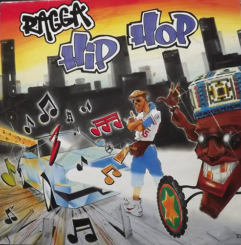 VARIOUS Ragga Hip Hop Volume 1 (Mango - UK original) (VG+) LP