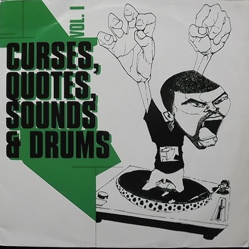 VARIOUS Curses, Quotes, Sounds & Drums Vol 1 (Hong Kong - Germany original) (VG) LP