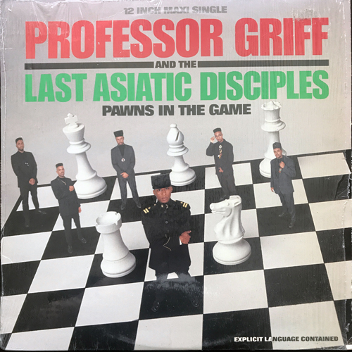 """PROFESSOR GRIFF AND THE LAST ASIATIC DISCIPLES Pawns In The Game (Skywalker - USA original) (EX/VG) 12"""""""