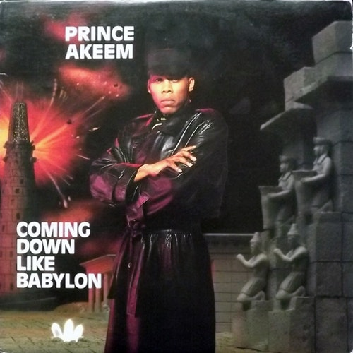 PRINCE AKEEM Coming Down Like Babylon (Chicago Tip - USA original) (VG+) LP