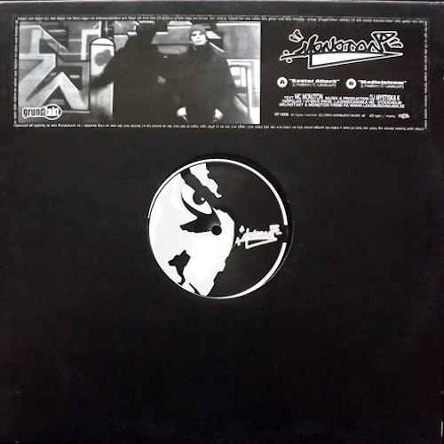 MC MONOTON Konter Attack (Grundtakt - Sweden original) (VG+/EX) 12""