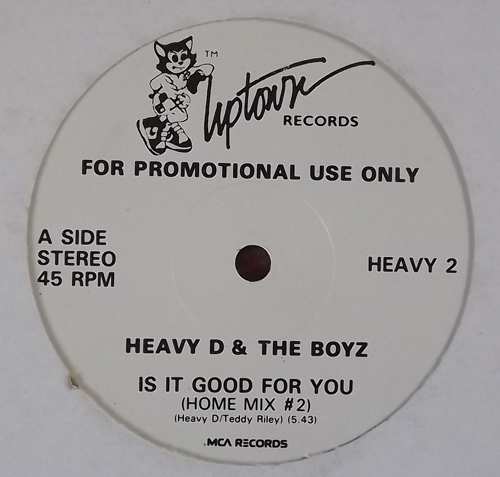 HEAVY D & THE BOYZ Is It Good For You (Promo) (Uptown - USA original) (EX) 12""