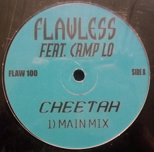 FLAWLESS FEAT. CAMP LO Cheetah (No label - USA original) (EX) 12""
