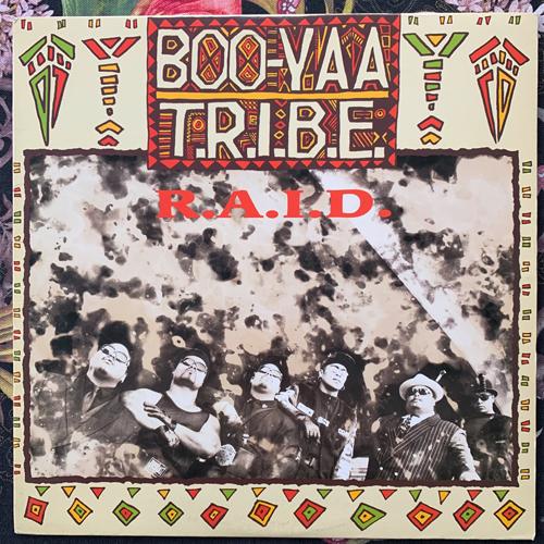 """BOO-YAA T.R.I.B.E. R.A.I.D. (4th & Broadway - USA original) (VG+/VG) 12"""""""