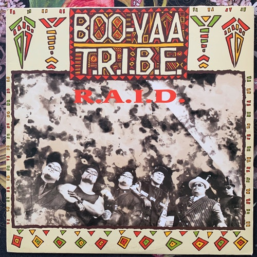 BOO-YAA T.R.I.B.E. R.A.I.D. (4th & Broadway - USA original) (VG+/VG) 12""