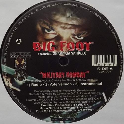 BIG FOOT Military Kombat (Lumberjack - USA original) (VG+) 12""