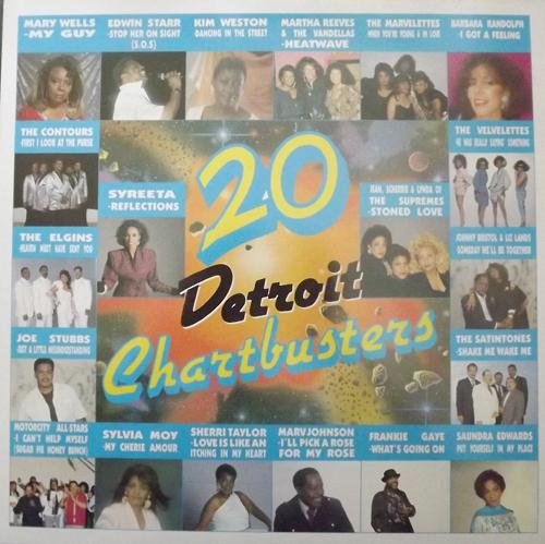VARIOUS 20 Detroit Chartbusters (Motorcity - UK original) (EX) LP