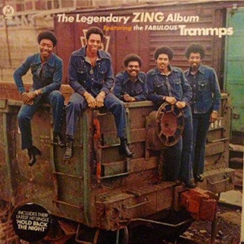TRAMMPS, the The Legendary Zing Album (Buddah - UK original) (EX) LP