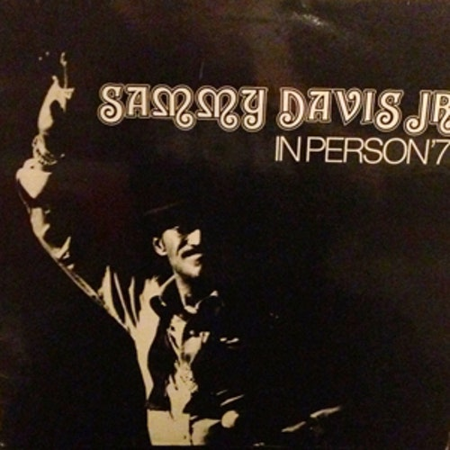 SAMMY DAVIS JR. In Person '77 (RCA - Germany original) (VG+/EX) LP