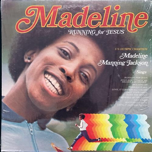 MADELINE MANNING JACKSON Running For Jesus (Newpax - USA original) (VG+) LP