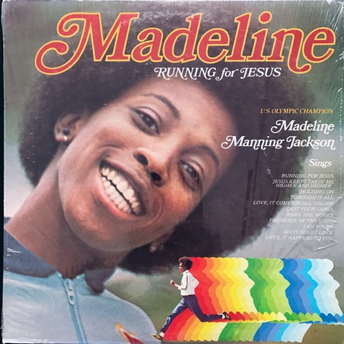 MADELINE MANNING JACKSON Running For Jesus (Newpax - USA original) (VG+) LP