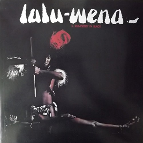LULU-WENA A Rhapsody in Black (Comes with promo material) (CBS - Holland original) (VG+/EX) LP