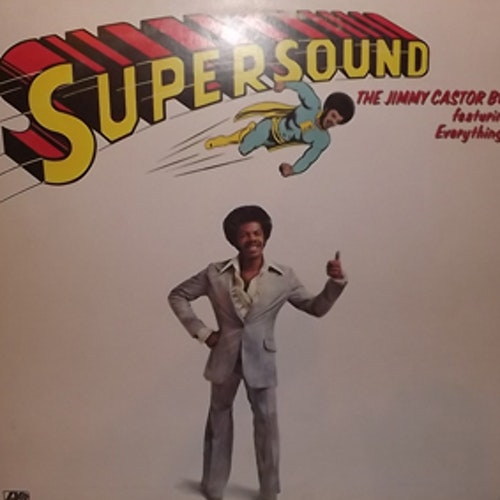 JIMMY CASTOR BUNCH, the Feat. THE EVERYTHING MAN Supersound (Atlantic - USA original) (VG+) LP