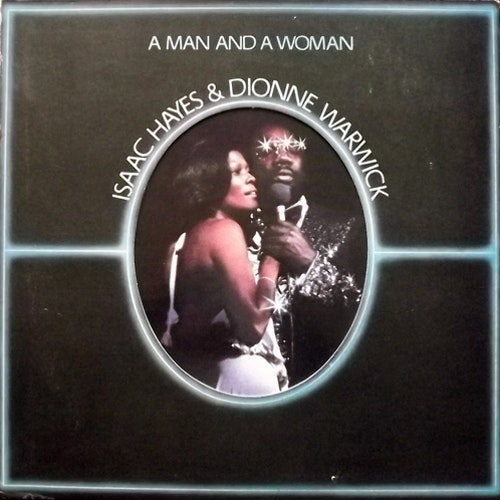 ISAAC HAYES & DIONNE WARWICK A Man And A Woman (ABC - USA original) (VG+) 2LP