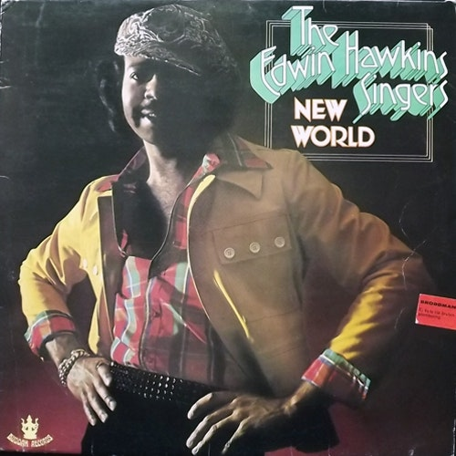 EDWIN HAWKINS SINGERS New World (Buddah - Europe original) (VG-/VG) LP