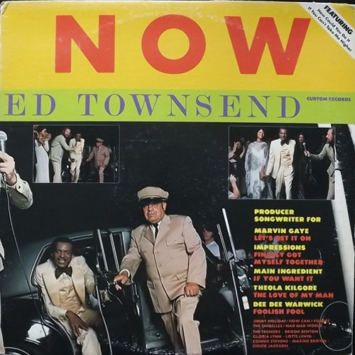 ED TOWNSEND Now (Curtom - USA original) (VG-/VG+) LP