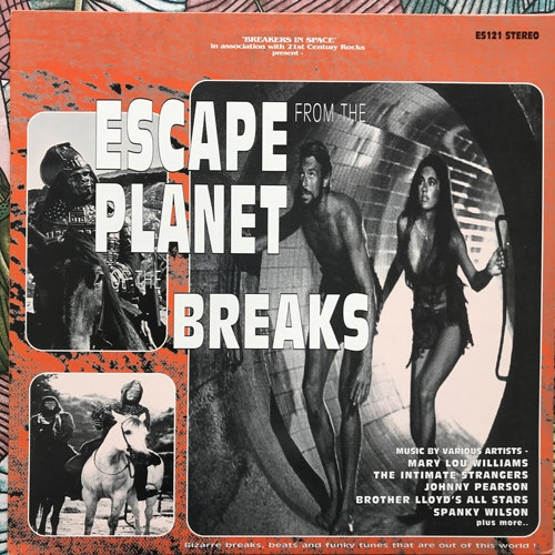VARIOUS Escape From The Planet Of The Breaks (Escape The Break - UK original) (EX) LP