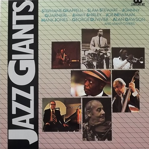 VARIOUS Jazz Giants (I Giganti Del Jazz 50+43) (Curcio - Italy original) (EX/NM) 2LP