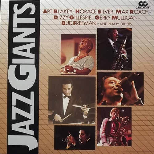 VARIOUS Jazz Giants (I Giganti Del Jazz 44+30) (Curcio - Italy original) (EX/NM) 2LP