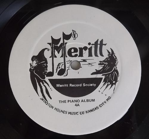 VARIOUS The Piano Album 1929 - 1940 (Meritt - USA original) (EX) LP