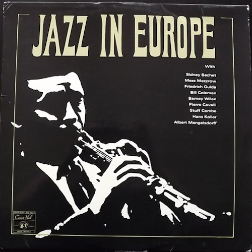 VARIOUS Jazz In Europe (Jazztone - Europe original) (VG/VG+) LP