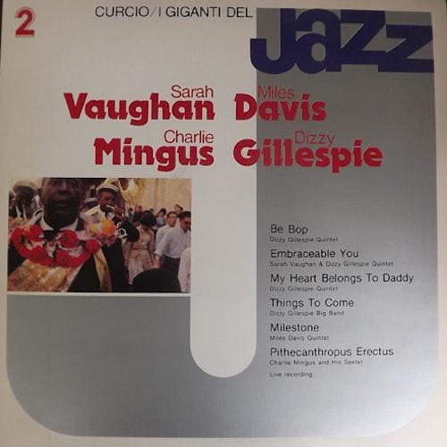 VARIOUS I Giganti Del Jazz Vol. 2 (Curcio - Italy original) (EX) LP