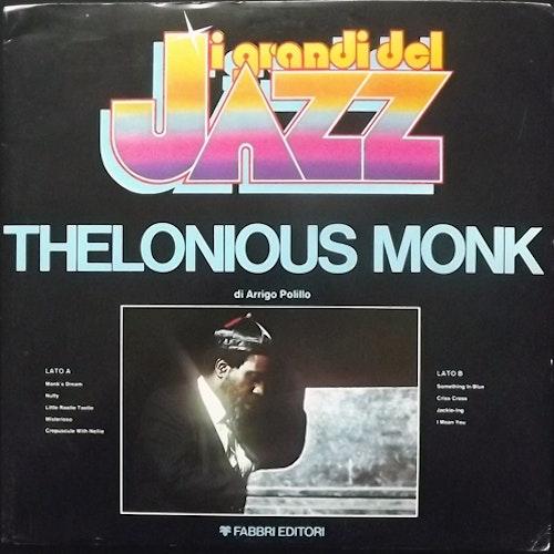 THELONIOUS MONK I Grandi Del Jazz (Fabbri Editori - Italy original) (VG+/EX) LP