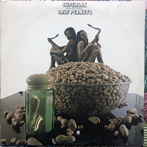 SUPERSAX Salt Peanuts (Supersax Plays Bird, Volume 2) (Capitol - USA original) (VG/VG+) LP