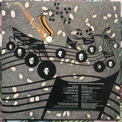 SUPERSAX Salt Peanuts (Supersax Plays Bird, Volume 2) (Capitol - USA original) (VG/VG+) LP