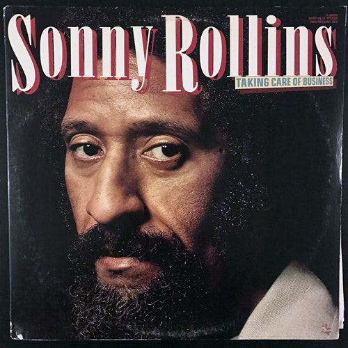 SONNY ROLLINS Taking Care Of Business (Prestige - USA original) (VG/VG+) 2LP