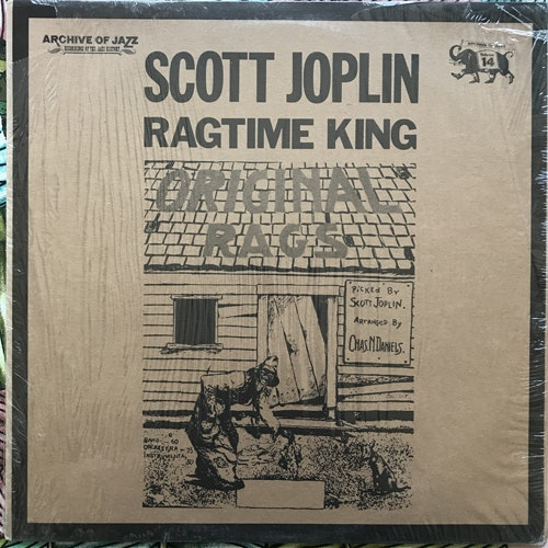 SCOTT JOPLIN Ragtime King (Jazz-Line - Germany reissue) (EX) LP