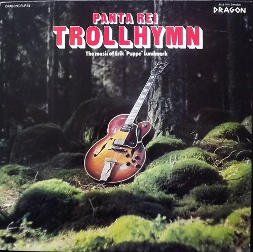 PANTA REI Trollhymn (Dragon - Sweden original) (VG+/EX) LP