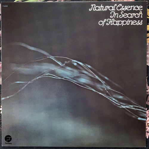 NATURAL ESSENCE In Search Of Happiness (Fantasy - USA reissue) (EX) LP