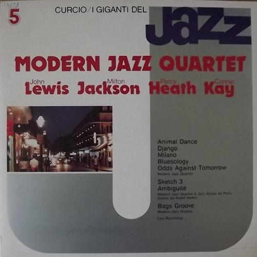 MODERN JAZZ QUARTET I Giganti Del Jazz Vol. 5 (Curcio - Italy original) (EX) LP
