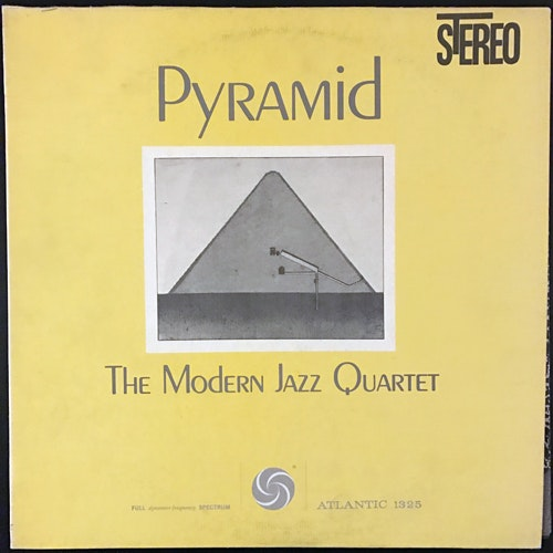 MODERN JAZZ QUARTET, the Pyramid (Atlantic - USA reissue) (VG+) LP