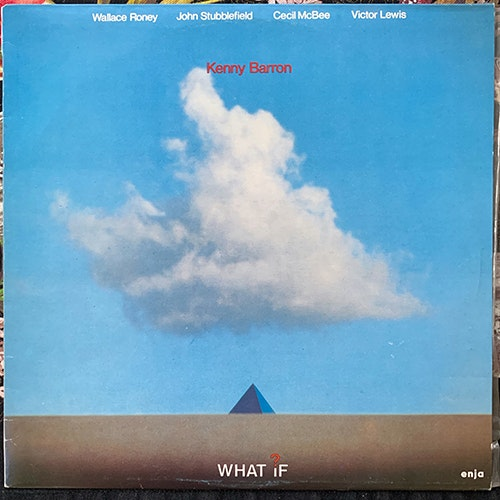 KENNY BARRON What If? (PGP RTB - Yugoslavia original) (VG+) LP