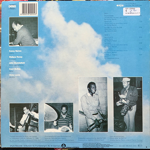 KENNY BARRON What If? (PGP RTB - Yugoslavia original) (VG+) LP