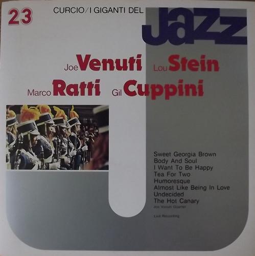 JOE VENUTI QUARTET I Giganti Del Jazz Vol. 23 (Curcio - Italy original) (EX) LP