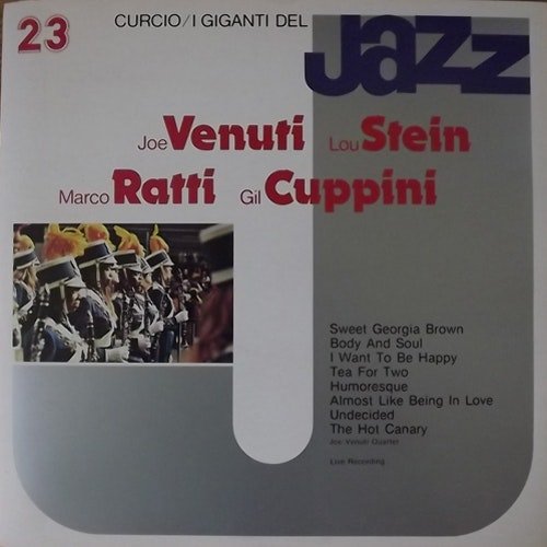JOE VENUTI QUARTET I Giganti Del Jazz Vol. 23 (Curcio - Italy original) (EX) LP