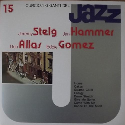 JEREMY STEIG/JAN HAMMER/DON ALIAS/EDDIE GOMEZ I Giganti Del Jazz Vol. 15 (Curcio - Italy original) (EX) LP