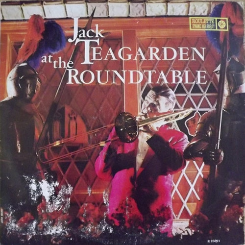 JACK TEAGARDEN Jack Teagarden At The Roundtable (Roulette - Italy original) (F/VG) LP