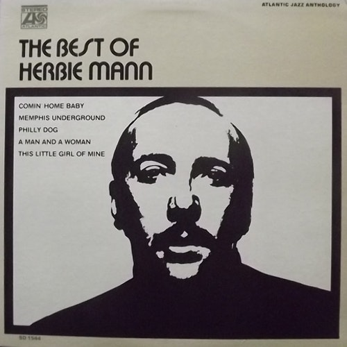HERBIE MANN The Best Of Herbie Mann (Atlantic - USA original) (VG+/EX) LP