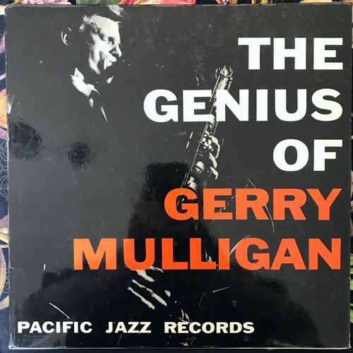 GERRY MULLIGAN The Genius Of Gerry Mulligan (Pacific Jazz - Europe original) (VG+/VG) LP