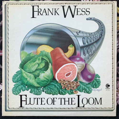 FRANK WESS Flute Of The Loom (Promo) (Enterprise - USA original) (VG+) LP