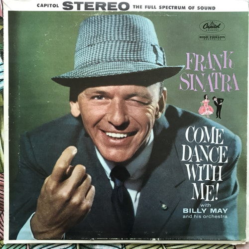FRANK SINATRA Come Dance With Me! (Capitol - USA reissue) (VG) LP