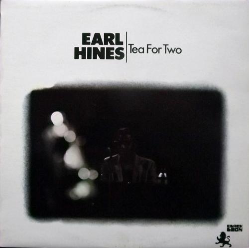 EARL HINES Tea For Two (Black Lion - UK original) (VG+) LP