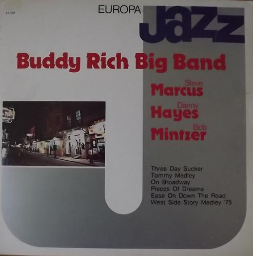 BUDDY RICH BIG BAND Europa Jazz (Europa Jazz - Italy original) (VG+/EX) LP