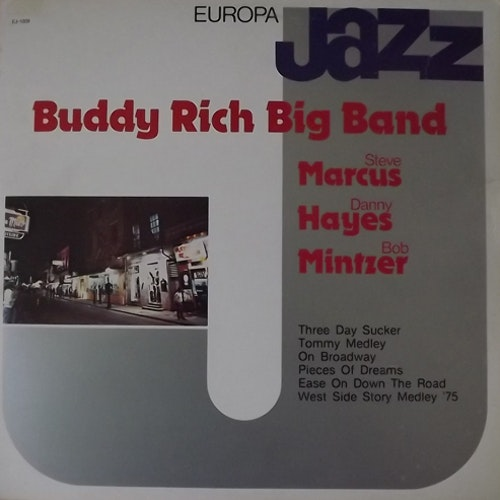 BUDDY RICH BIG BAND Europa Jazz (Europa Jazz - Italy original) (VG+/EX) LP