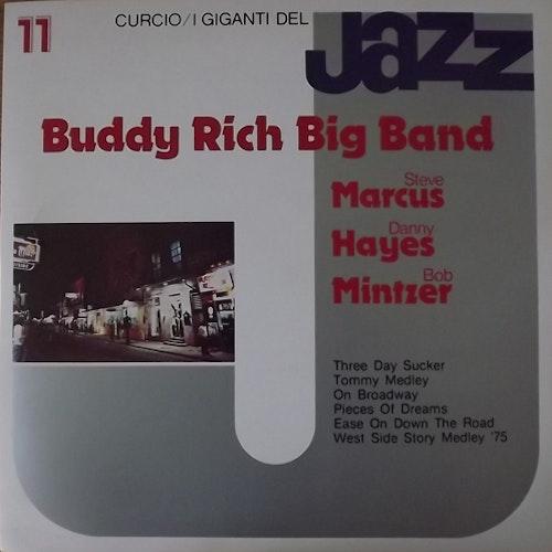 BUDDY RICH BIG BAND I Giganti Del Jazz Vol. 11 (Curcio - Italy original) (EX) LP