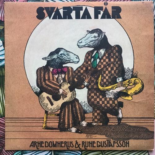 ARNE DOMNÉRUS & RUNE GUSTAFSSON Svarta Får (Sonet - Sweden original) (VG+/VG) LP